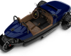 Venice GTS Royal Blue high rear